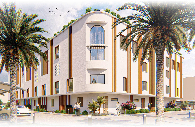 D2 Apartments / Samet Yurtsever + Furkan Ankaralı