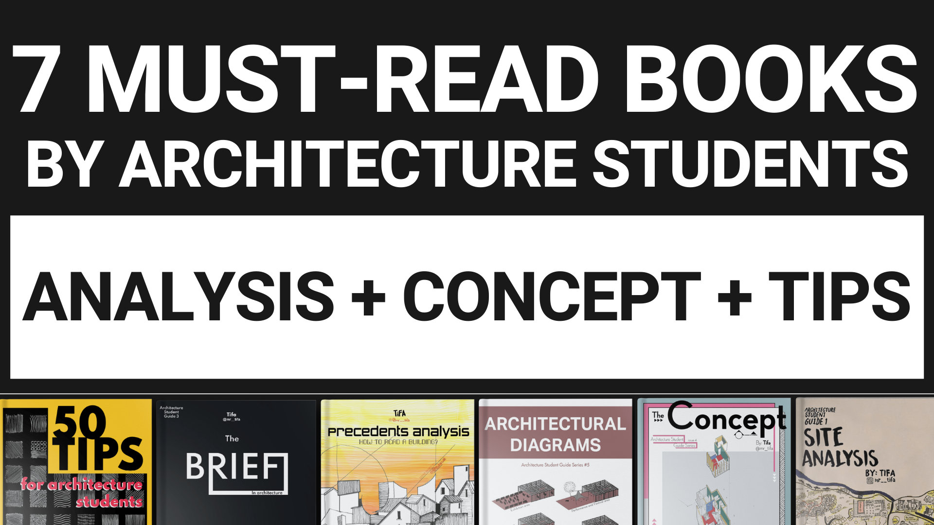 7 Must-Read Books by Architecture Students