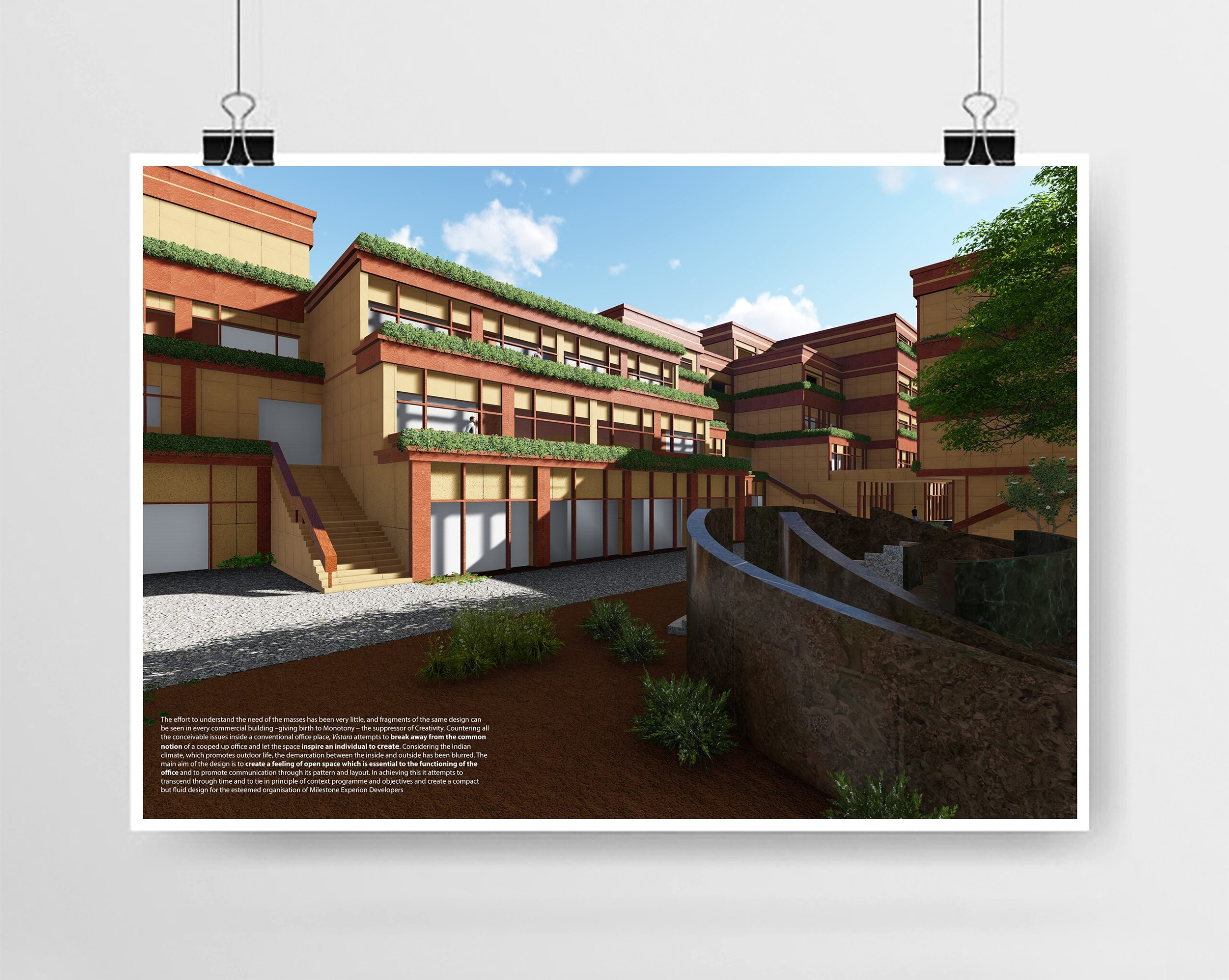 Sustainable Office Design – GRIHA Competition / Karan Malkan