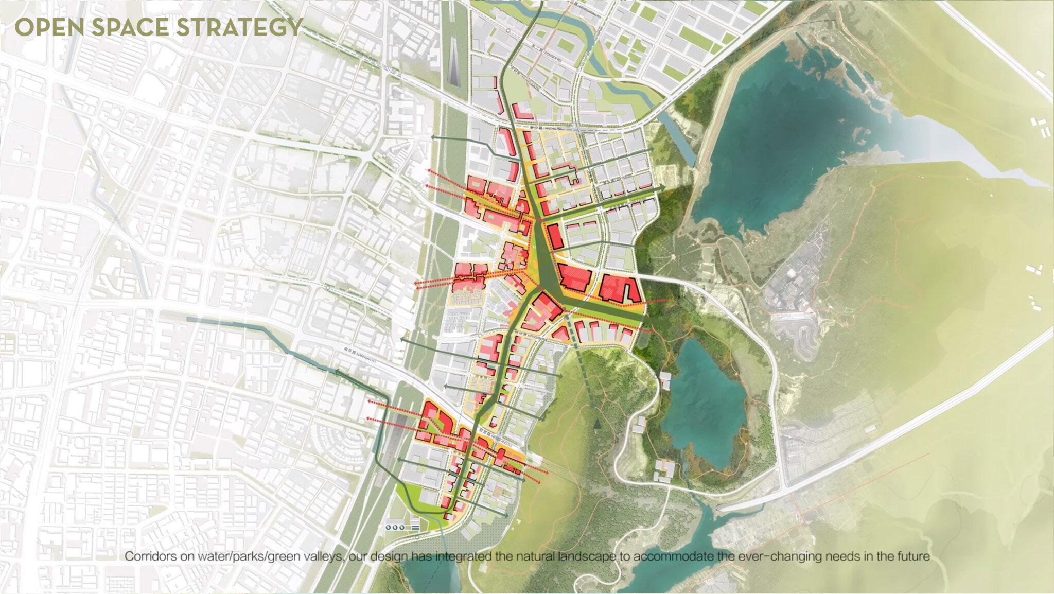 Proposed Xinqiao East Urban Development / Sudipto Barua