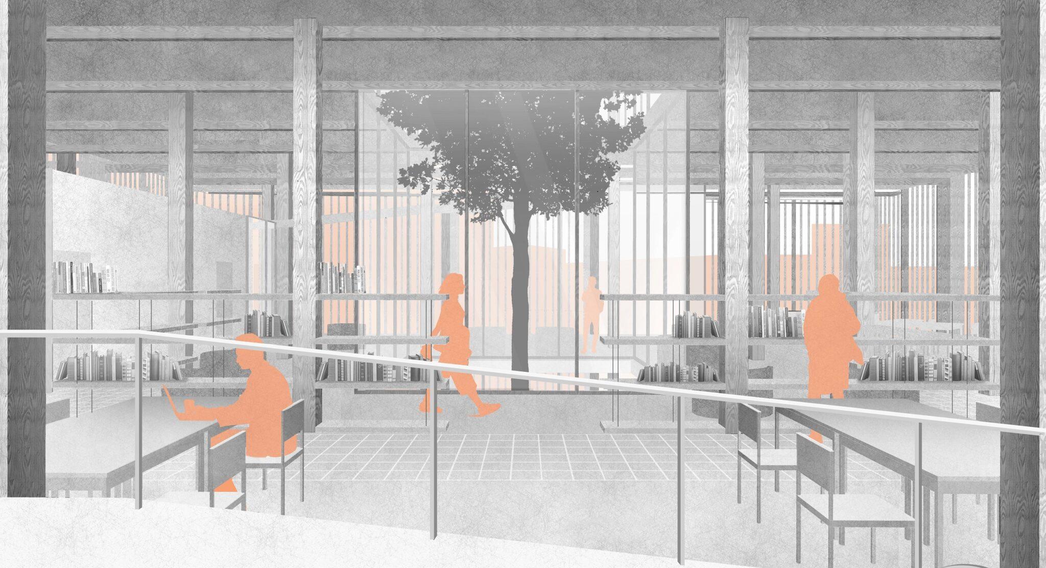 POINT OF INCLUSION – Student Community Centre in Amsterdam / Dasha Naumochkina