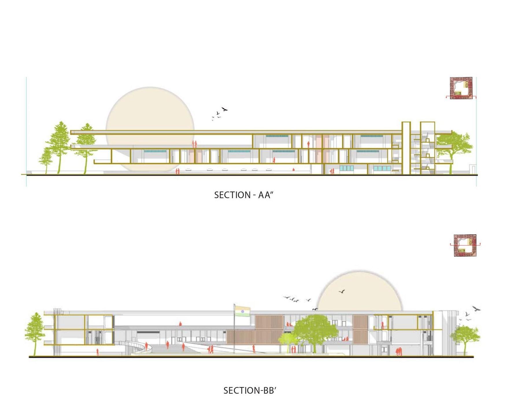 Civil Court Design / Tanuja Architecture