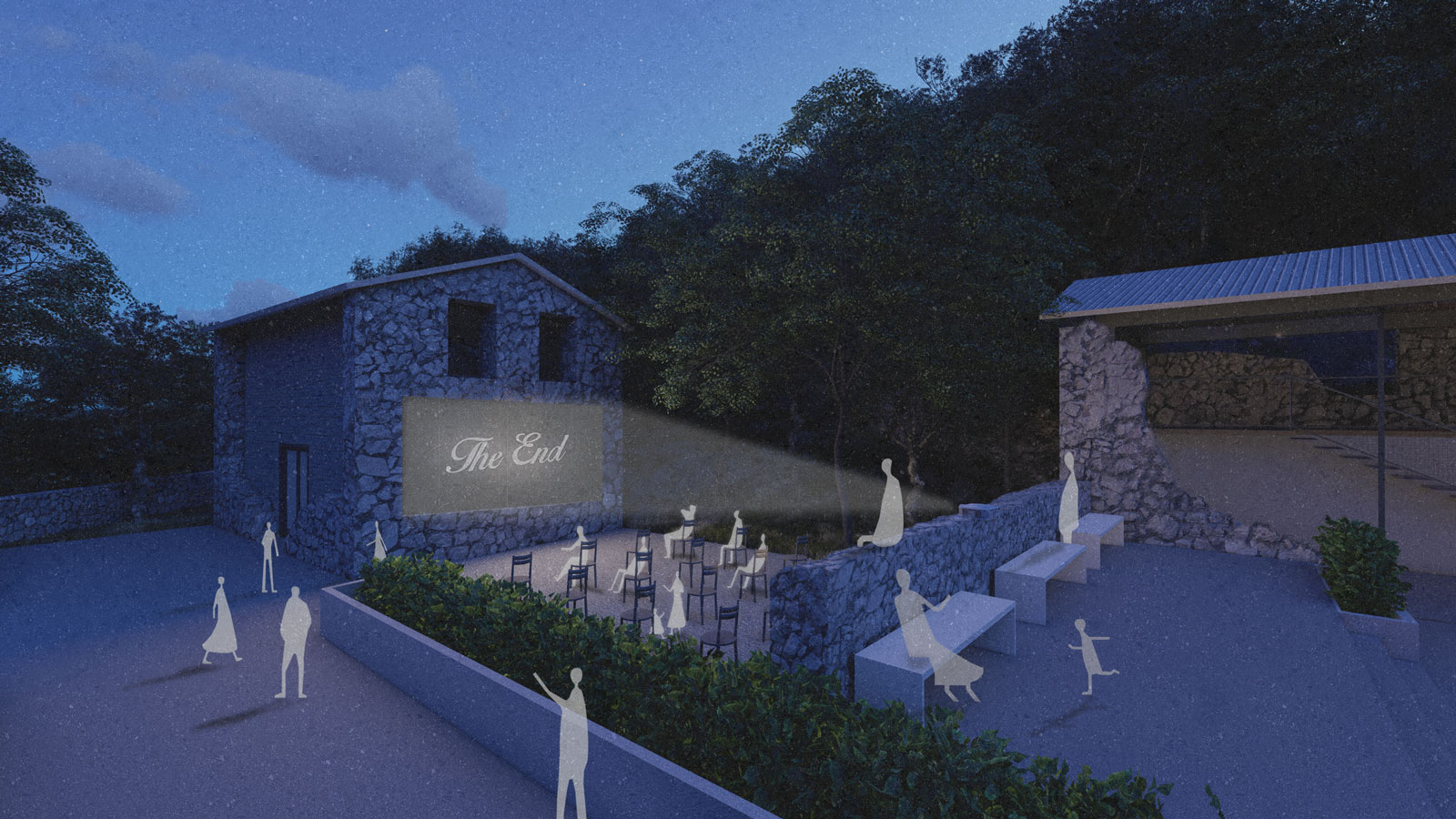 Villaggio Di Sale: The Revival of the Abandoned Settlement / Sofia Mikroni + Aristea-Evangelia Koukounouri